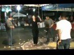 "Samar Congressman Marcelino Libanan dances ""Kuratsa Mayor""."