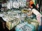 Dried Fish Vendor - Tacloban Public Market, 2010